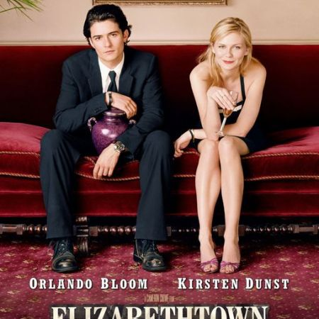 Elizabethtown (2005) movie poster with Orlando Bloom and Kirsten Dunst