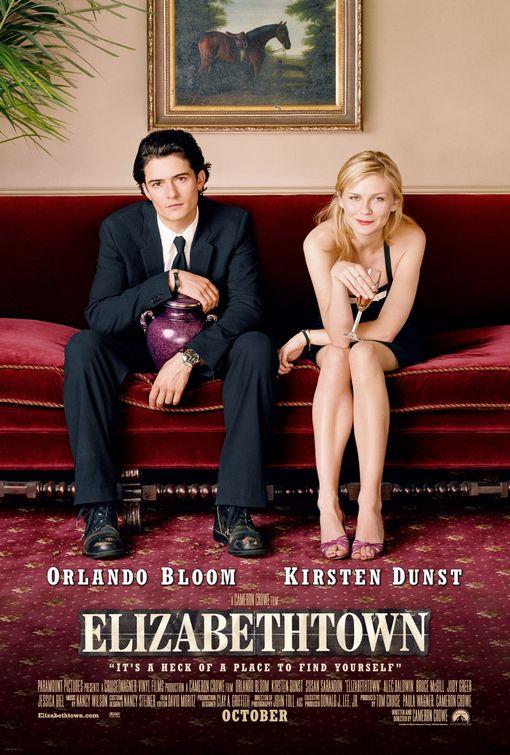 Elizabethtown (2005) movie poster with Orlando Bloom and Kirsten Dunst