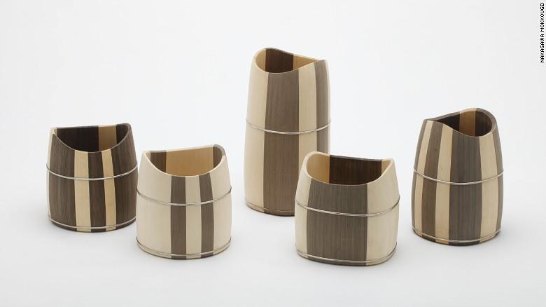 Woodwork by Shuji Nakagawa