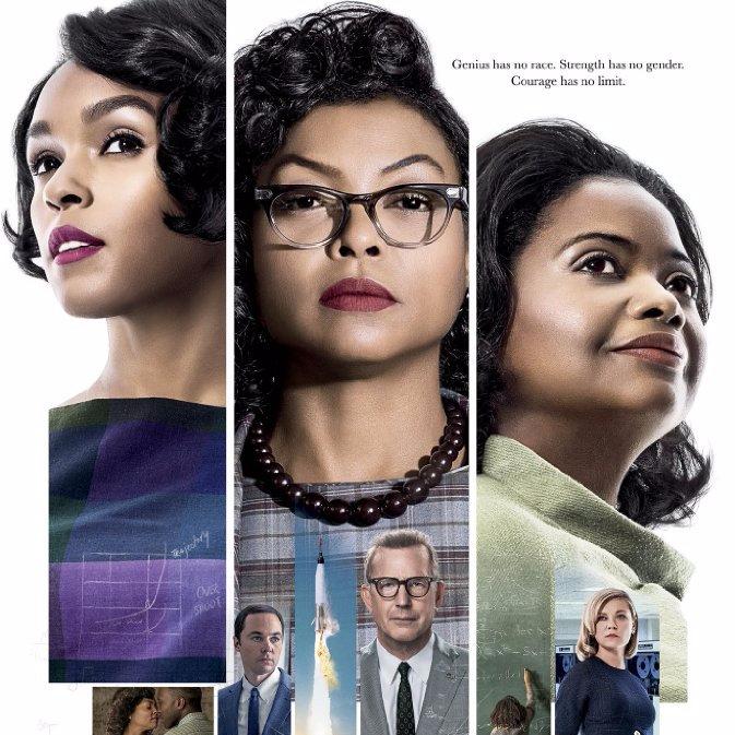 Hidden Figures (2016) movie poster
