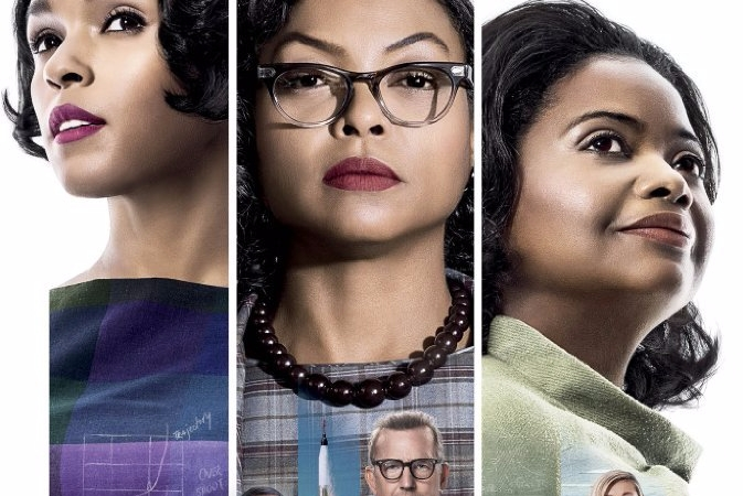 Hidden Figures (2016) movie poster