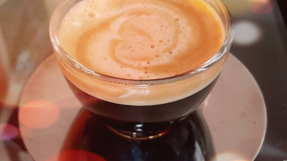 Picture of my homemade espresso