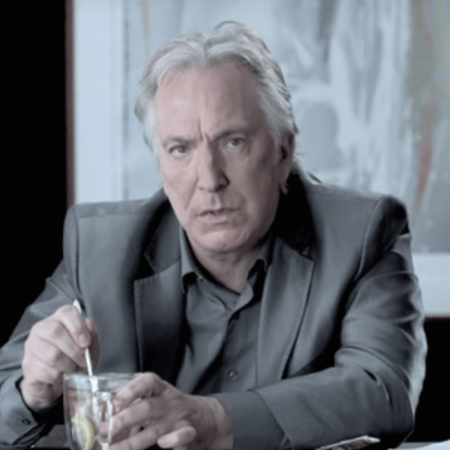 Photo of Alan Rickman on Portraits in Dramatic Time by David Michalek