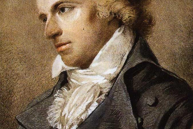 Friedrich Schiller, German poet.