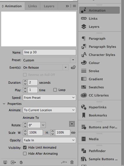Screen Shot Adobe InDesign CC 2017