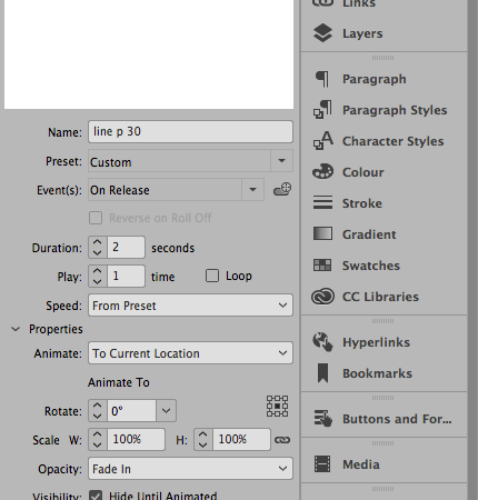 Screen Shot Adobe InDesign CC 2017
