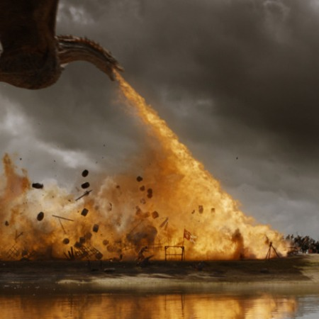 Image of Game of Thrones' (2011-) Dragon Battle
