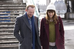 Image of Simon Pegg and Lake Bell in Man Up (2015) (from IMBd)