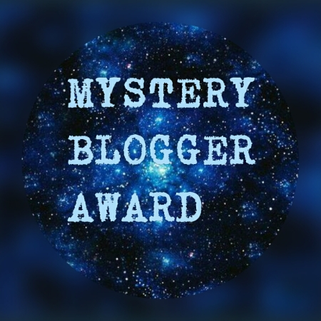 The Mystery Blogger Award logo