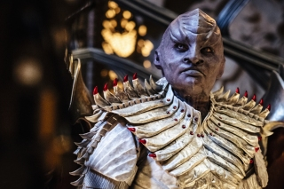 Mary Chieffo as L'Rell in Star Trek: Discovery (2017)